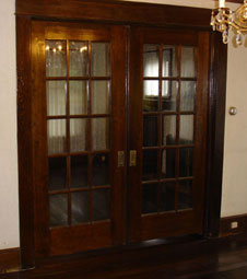 Vintage Pocket Doors
